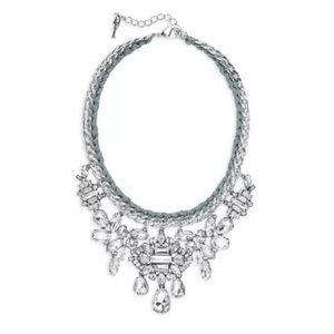 Chloe + Isabel Deco Crystal Cluster Drama Necklace